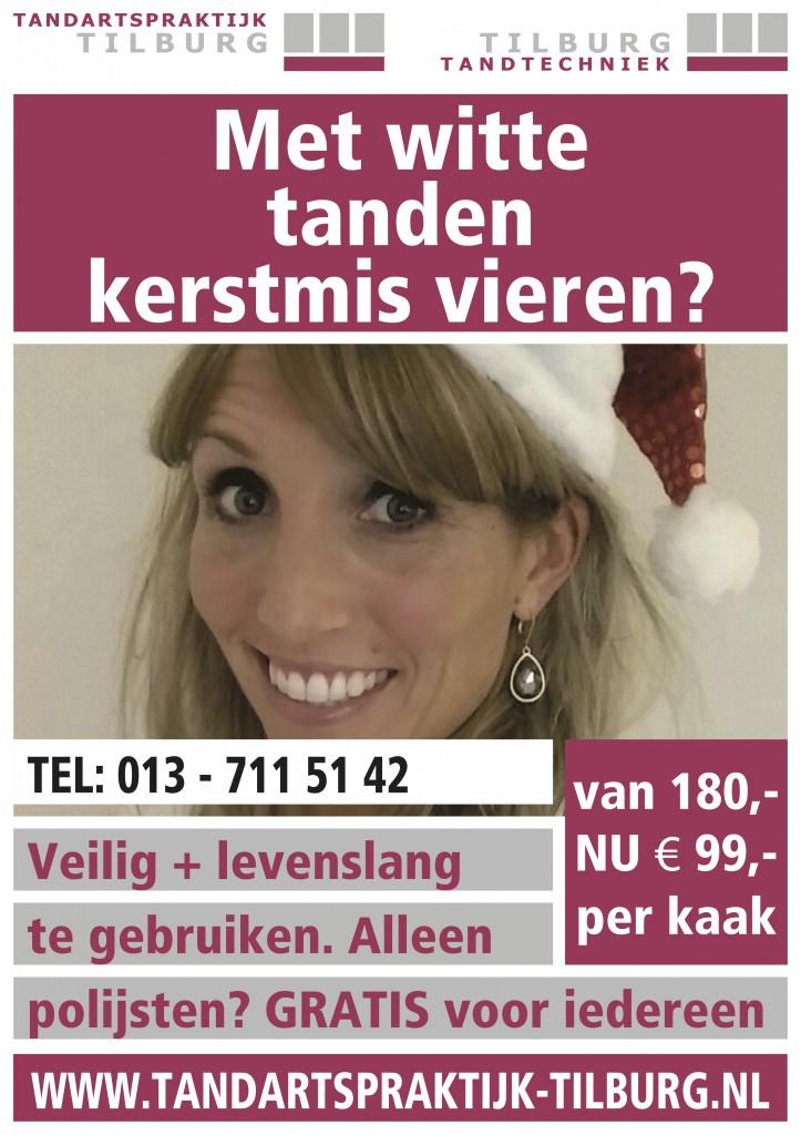 Tandartspraktijk Tilburg bleken kerst v3